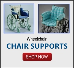 wheelchair support pillows and devices