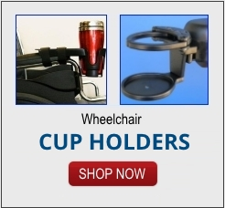 wheelchair cup holders