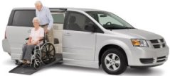 wheelchair van rental