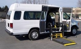 wheelchair van lifts