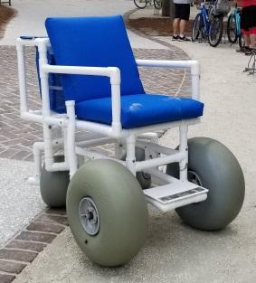 beach all terrain wheelchair
