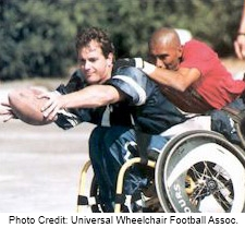 wheelchair football