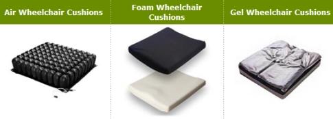 wheelchair seat cushions
