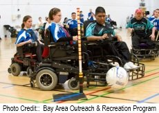 wheelchair soccer